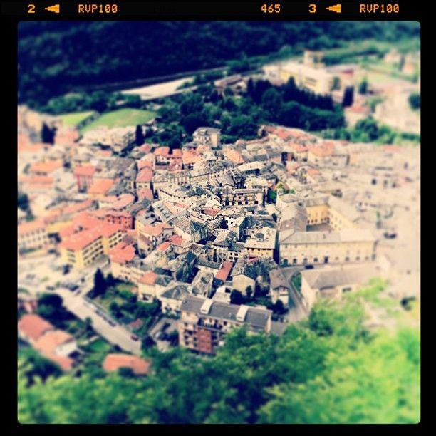 Sacromonte di Varallo... fiume... paese...