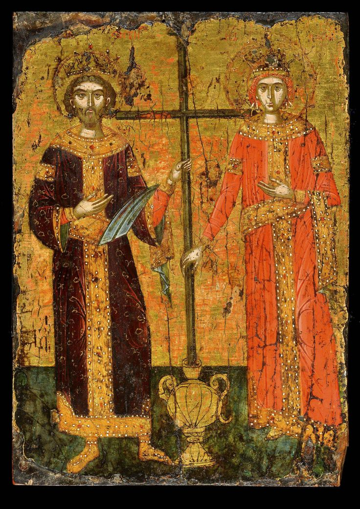 St Constantine and St Helena - Morsink Icon Gallery