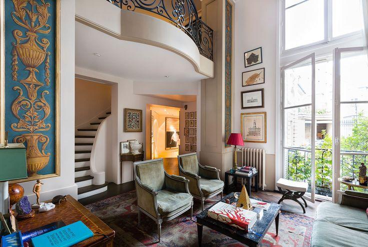 Apartment on Paris Left bank [1501 x 1010] Parisian