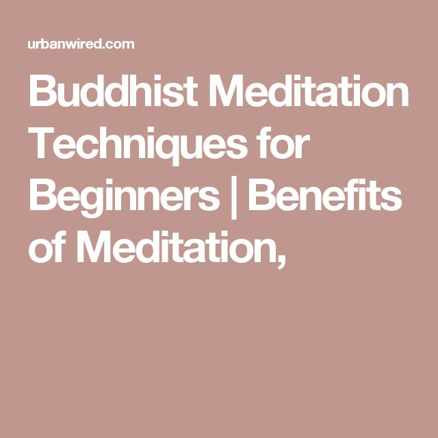 guided buddhist meditation for beginners
