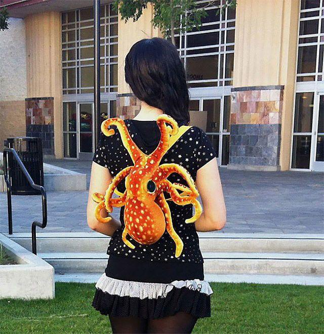 Der Octopus Backpack on http://www.drlima.net