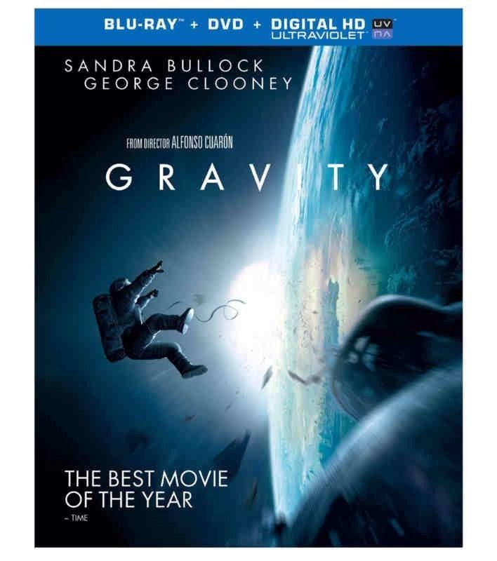 Gravity (Blu-ray   DVD   UltraViolet Combo Pack)