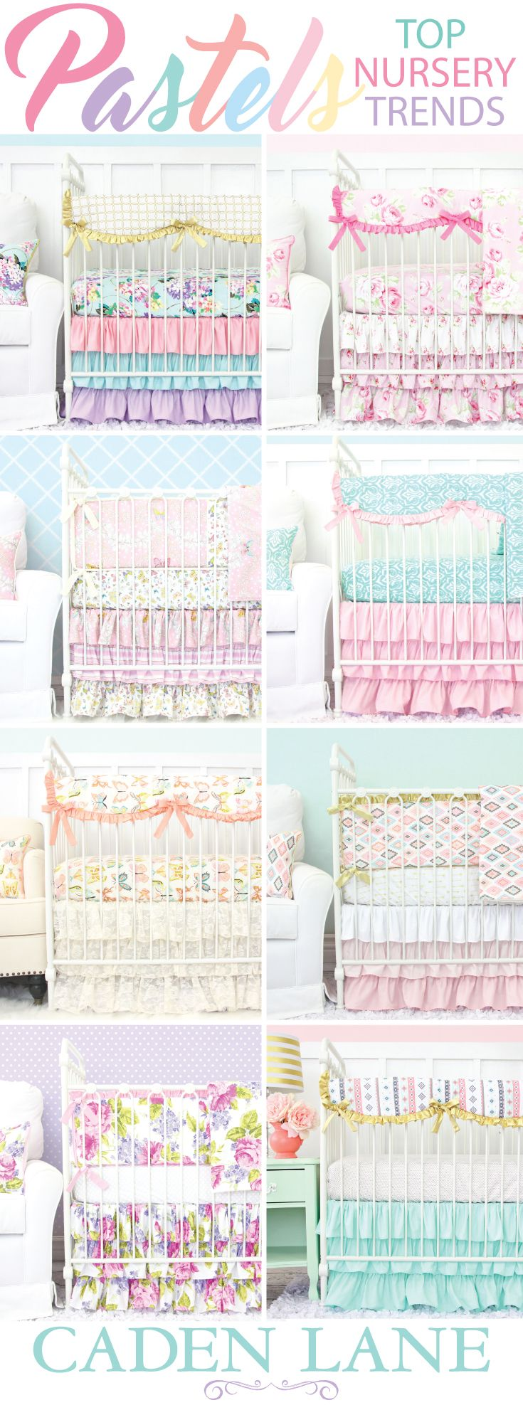 Pastel Baby Bedding Comes In All Of The Most Por Colors Caden Lane Has