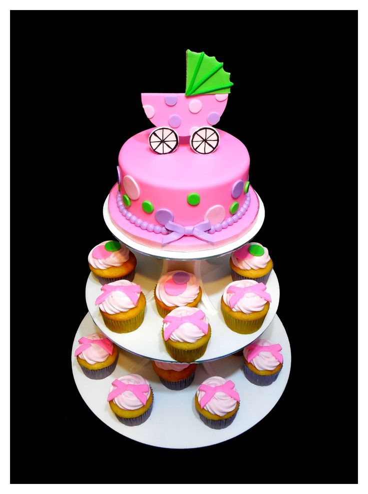 Carriage Cupcake Cake Ideas And Designs