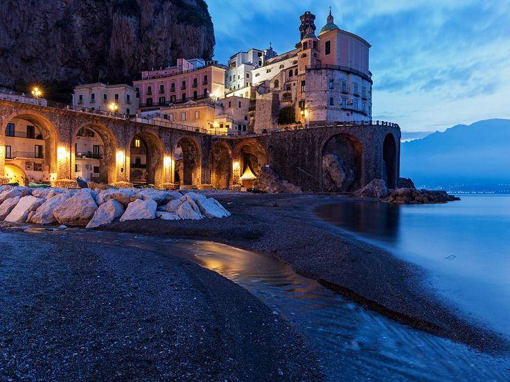 Tucked between two cliffs overlooking the Tyrrhenian Sea, the tiny, picturesque village of Atrani is the Amalfi Coast's best-kept secret. It's often bypassed en route to the larger and more famous towns of Amalfi, Positano, and Sorrento, and this is a good thing—you'll almost always have its beautiful churches, piazzas and charming trattorias (we love A'Paranza for its fresh seafood and smoked mozzarella) all to yourself. Added bonus: it's an easy 30-minute stroll from Amalfi.