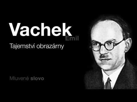 MLUVENÉ SLOVO   Vachek, Emil   Tajemství obrazárny DETEKTIVKA - YouTube