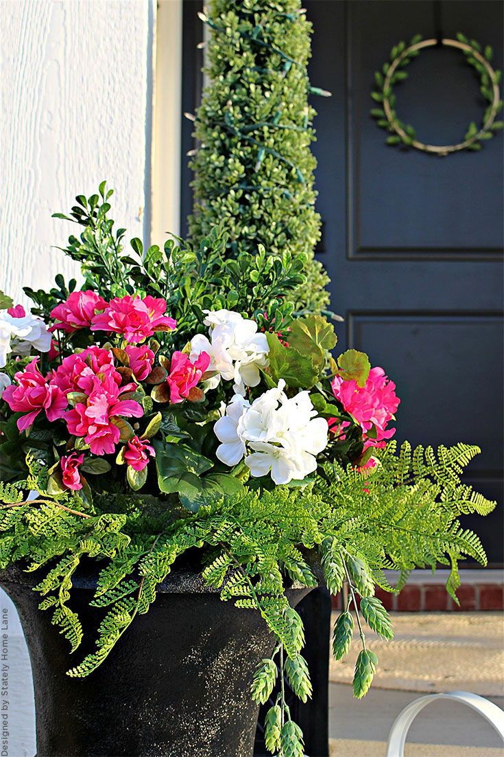 Our Artificial Outdoor Plants And Silk Flowers Are The Most Durable And Weather Res Artificial Plants Outdoor Faux Outdoor Plants Artificial Plant Arrangements