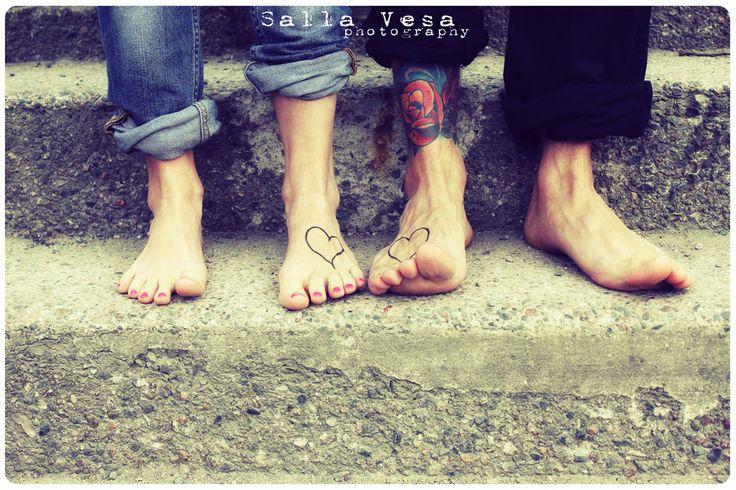 by Salla Vesa# photography portrait beauty couple engagement tattoo stairs summer feet jeans cute hääkuvausta lahdessa // salla.vesa (a) gmail.com /// www.facebook.com/sallavesaphotography   // https://www.instagram.com/sallavesaphoto/ hääkuvaaja lahti hääkuvaaja hollola