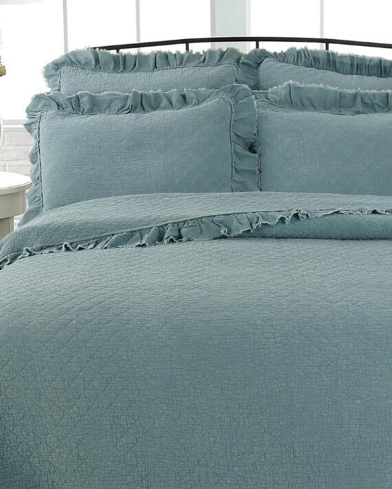 Exclusively Ours Stonewashed Ruffle, Artisan Home By Nina Campbell Bedding