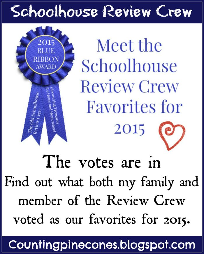 As my first year on the 2015 Review Crew winds down and the family and I switch gears to prepare for the holidays, I wanted to share with you what my families personal favorites from the 42 wonderful products we reviewed this year as well as share the 2015 Blue Ribbon Award winners.