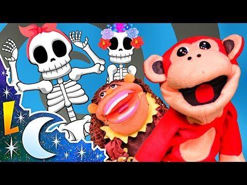 Las Calaveras Salen de Su Tumba Chumbala Cachumbala - Canción infantil con El Mono Sílabo - YouTube
