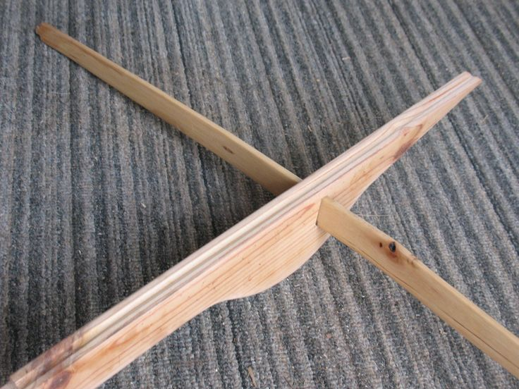 Build a Quick and Simple Montagnard Style Crossbow   Sensible Survival