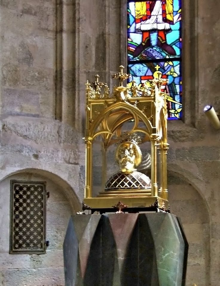 I. Laszlo Hungarian King (St. Ladislaus) - Győr, Hungary