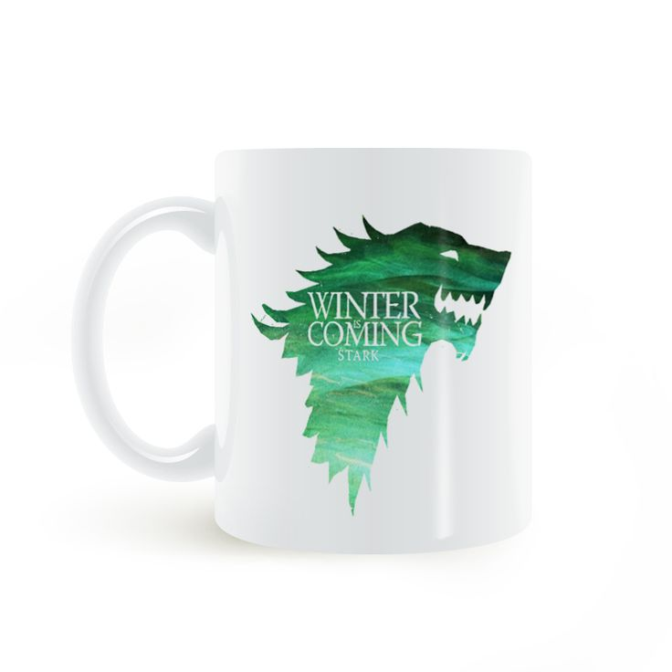 Find More Mugs Information about Game of Thrones Winter is Coming Stark Coat of Arms Mug Coffee Milk Ceramic  Creative DIY Gifts Home Decor Mugs 11oz T292,High Quality decorative mugs,China mug game of thrones Suppliers, Cheap game of thrones mug from Double Seven Store on Aliexpress.com