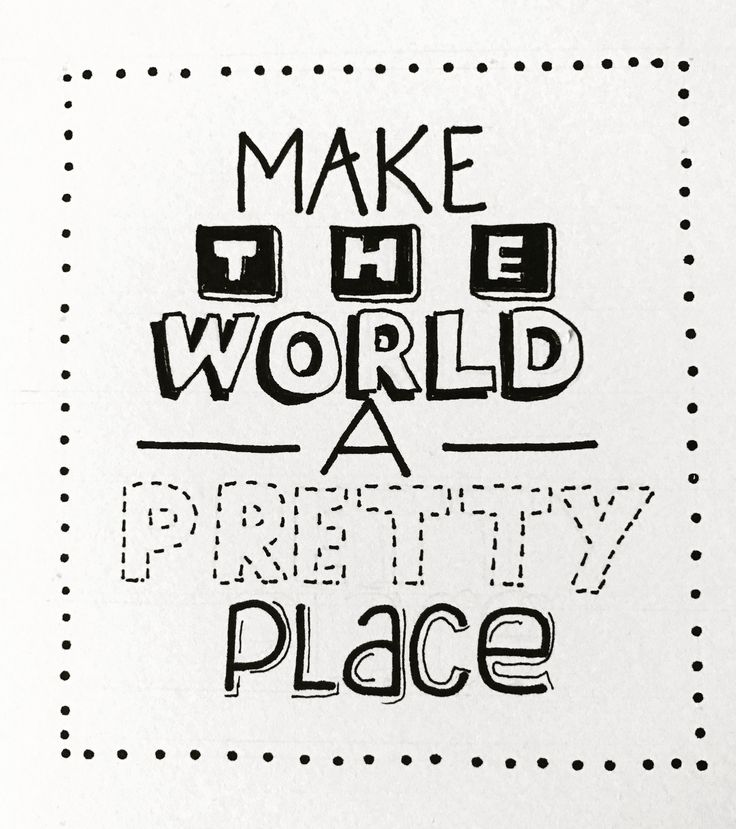 Make The World A Pretty Place