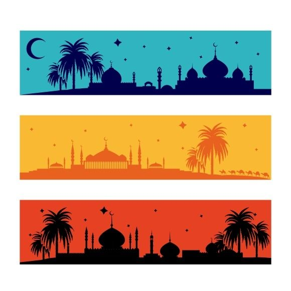 Islamic ramadan banners by@Graphicsauthor