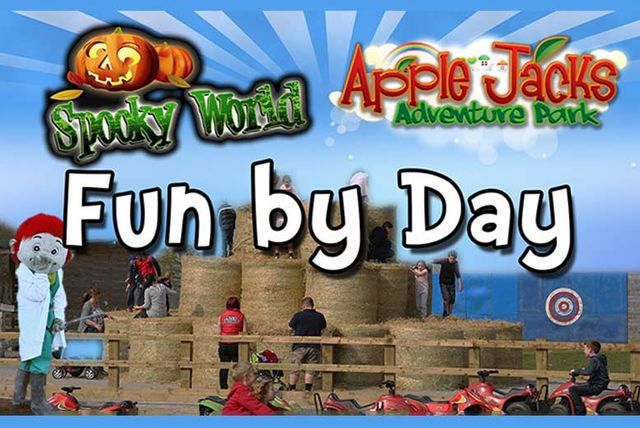 'Spooky World's Fun by Day' Family Tkt @ Apple Jack's Adventure Park