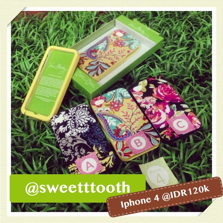 Vera Bradley case for iphone 4/4s, IDR120.000