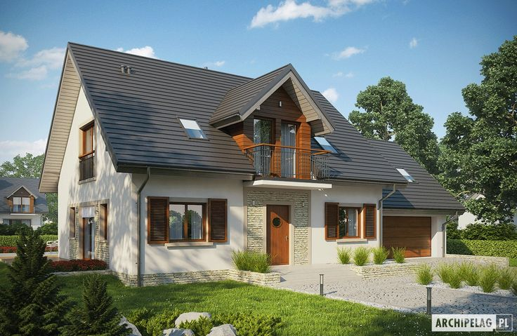 Projekty domów ARCHIPELAG - Amaranta G2 ENERGO