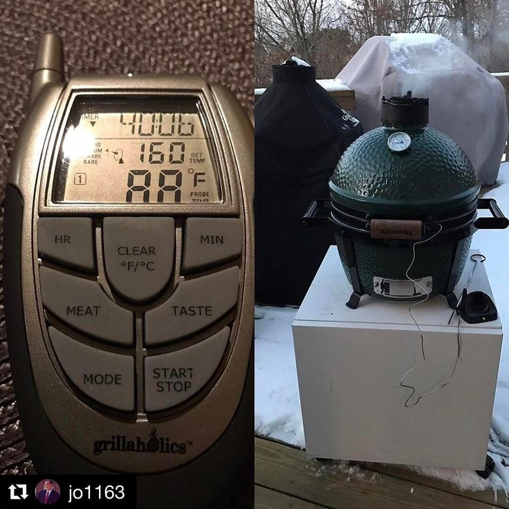 Thanks for the love @jo1163 !!!  This is great!! Its 15 #degrees #outside but im #toasty inside with my new @grillaholics #bbq #thermometer @grilladdict @stevenraichlen @bbq.nation Thanks for the love @jo1163 !!!  This is great!! Its 15 #degrees #outside but im #toasty inside with my new @grillaholics #bbq #thermometer @grilladdict @stevenraichlen @bbq.nation