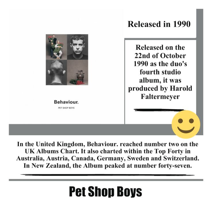 Behaviour Album by the Pet Shop Boys #petshopboys #uk #electronic #synthpop #pop #song #music #album #musica #singer #songwriter #video #youtube