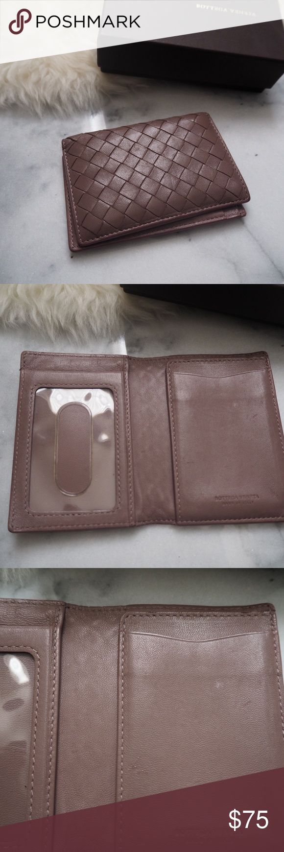 Bottega Veneta Purple Card Holder Bottega Veneta Card Holder • Condition is used (see pix for marks n cracks on the corners) • Comes with box Bottega Veneta Bags Wallets