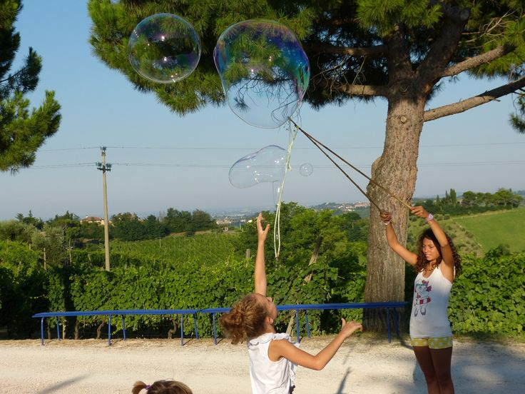 19 Luglio - Intrattenimento per bambini - Serata sotto le stelle 2014 #tenutaneri www.tenutaneri.com #romagna