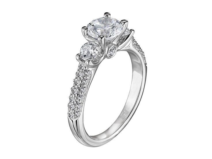 Collection: The Crown - M1165RD10 #WeddingRings #EngagementRings #DiamondRings #ScottKay #ScottKayJewelry