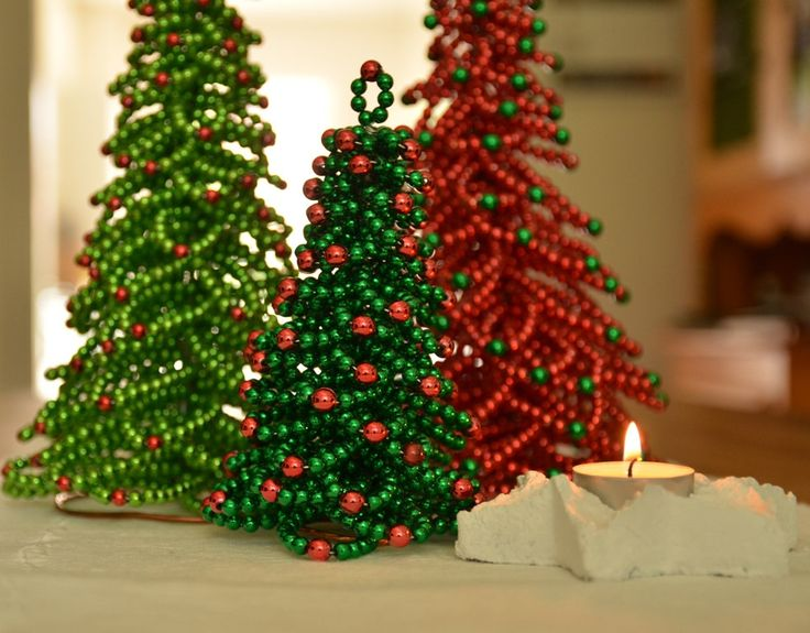 Christmas Tree Tutorial Christmas Decor Beaded Christmas Tree PDF Format von FlorenHandicrafts auf Etsy https://www.etsy.com/de/listing/160505069/christmas-tree-tutorial-christmas-decor