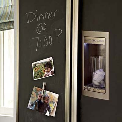 17 best images about appliance frame panel sets on for Chalkboard paint ideas for kitchen