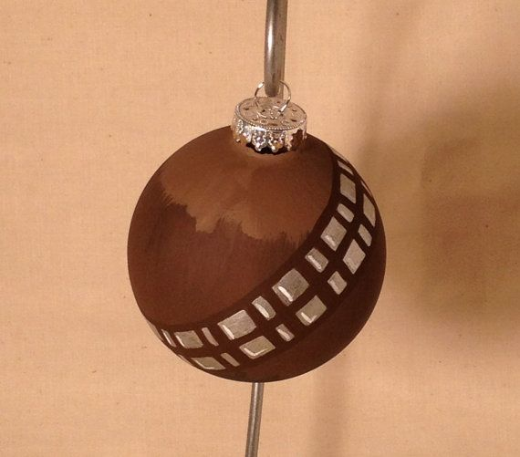 My hubby would love this!! Chewbacca ornament!