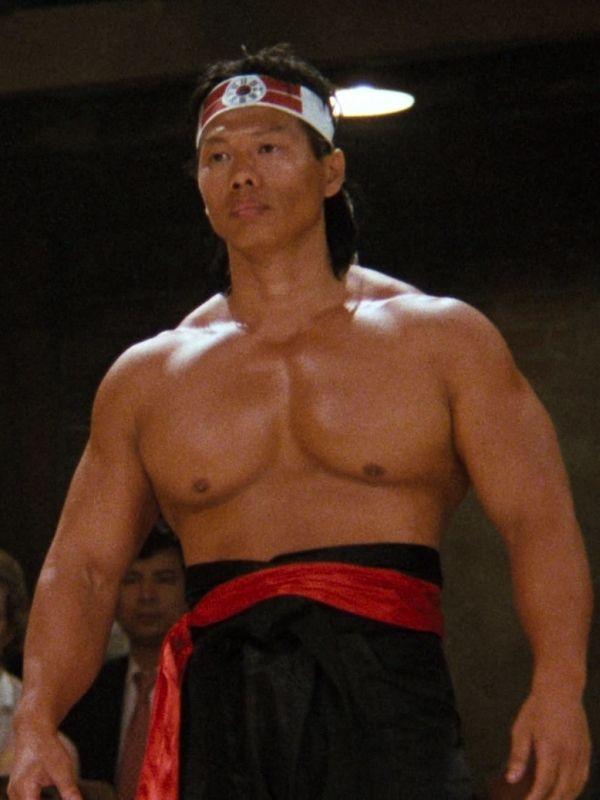 Bolo Yeung (Canton, China) 1946. Bolo began his martial