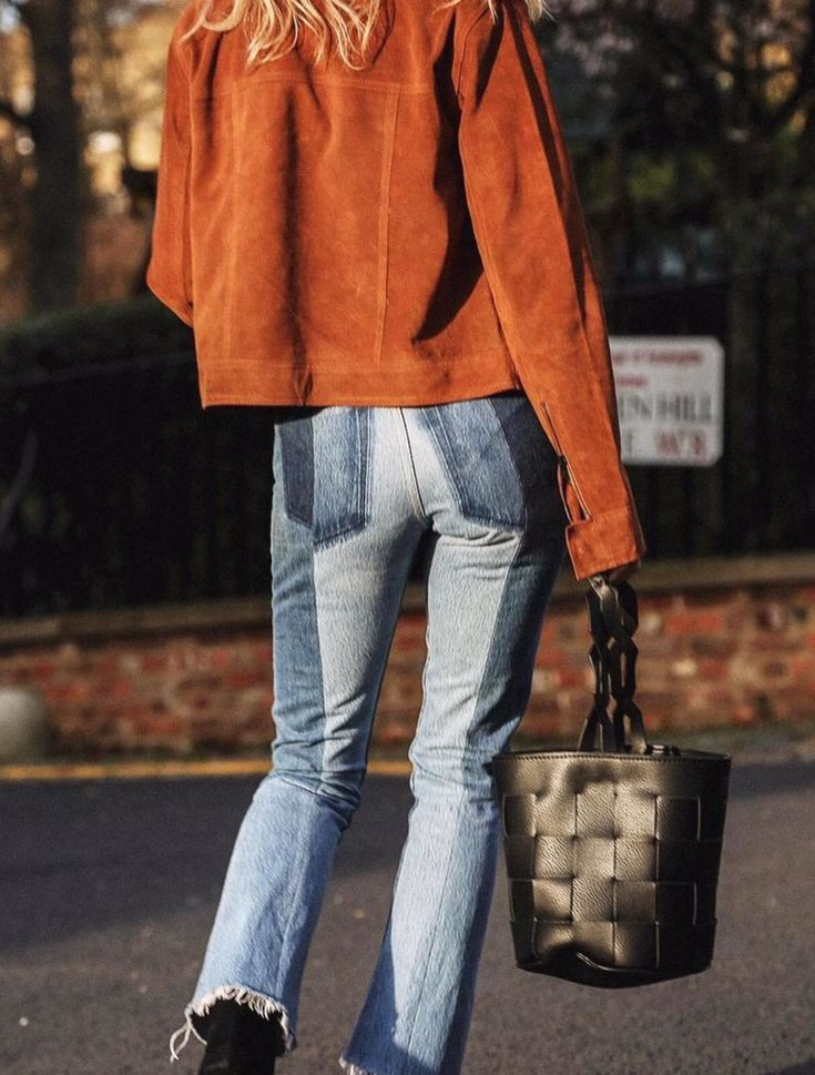 patchwork jeans look at that bag!  un vistazo a ese bolso