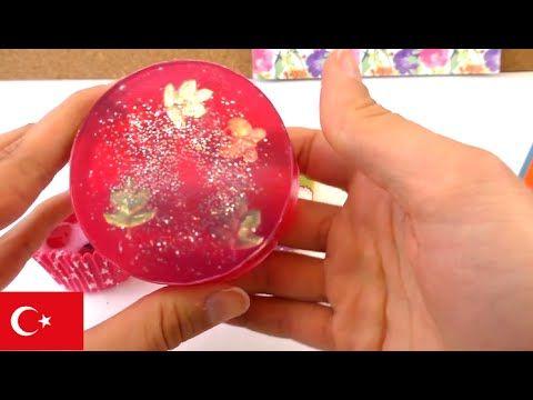 Sabun kendin nasıl yapabilirsin? Gül kokan Sabun çabuk ve basit yapımı - DIY Türkçe - YouTube