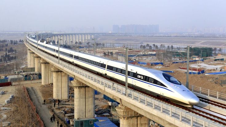 If you want to try a high-speed train travel, you can consider China. China launched 2,595 high-speed trains by the end of 2016, accounting for 60 percent