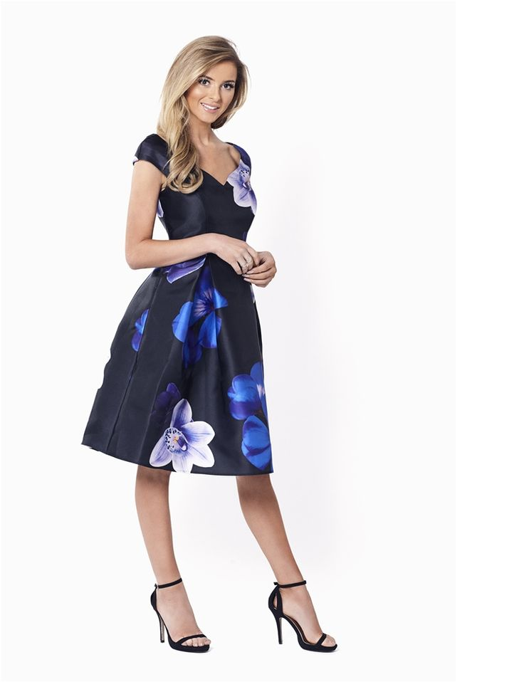 Radley Bardot All Over Floral Print Prom Dress from the occasion wear and wedding collection of Sistaglam