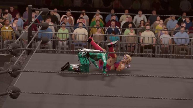 WWE 2K17 alundra blayze v galactic queen
