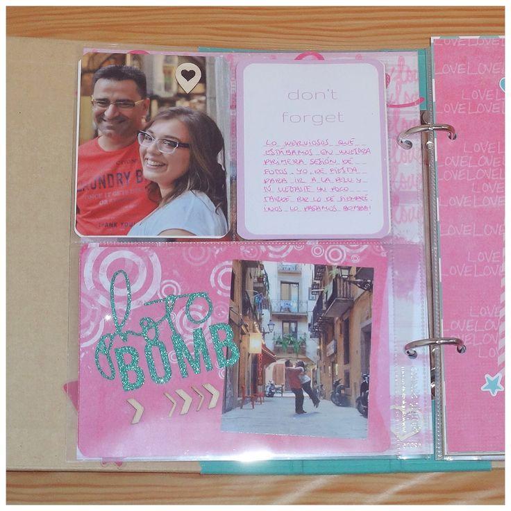 Sn@p con Paper Romance de Scraperalimonera #scrapbooking #paperromance #madscraproject