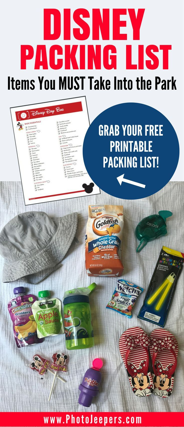 If you're planning a trip to Disney, you'll want to check out this Disney packing list first. It has everything you need to bring with you inside the Disney park including things to pack for kids. This packing list will be a lifesaver for Disney or any amusement park you may travel to this year. It includes items and tips for food & drink, clothing & gear, personal items and budget-friendly souvenirs and things to keep kids happy during the day. Make sure you save these things to bring for…