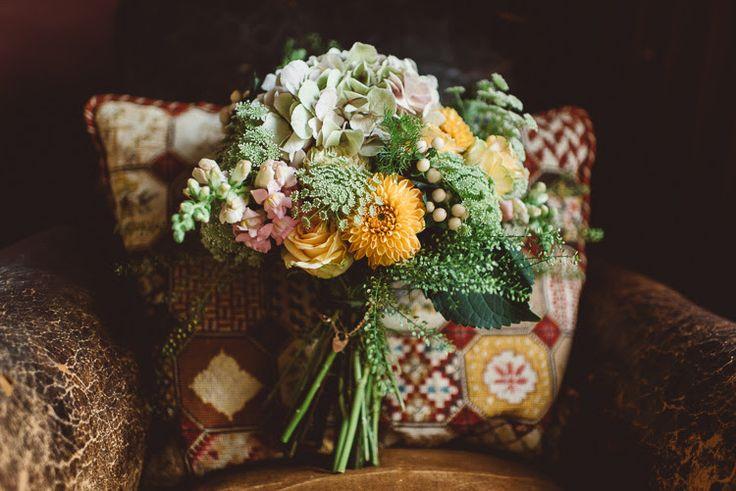 Autumn bouquet for Laura. September 2015
