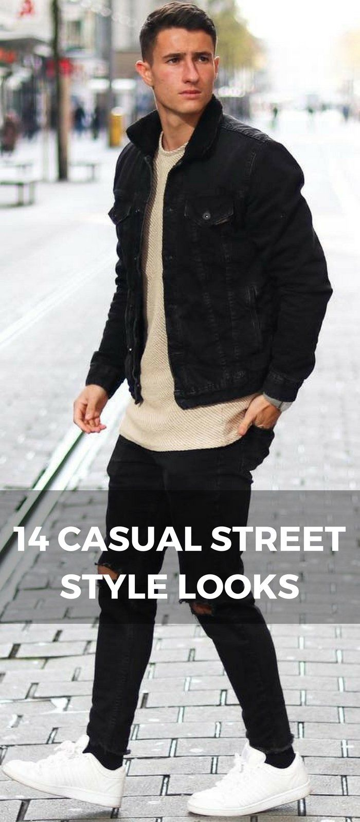 7d0921397ea casual street style looks for men. 14 Coolest ...