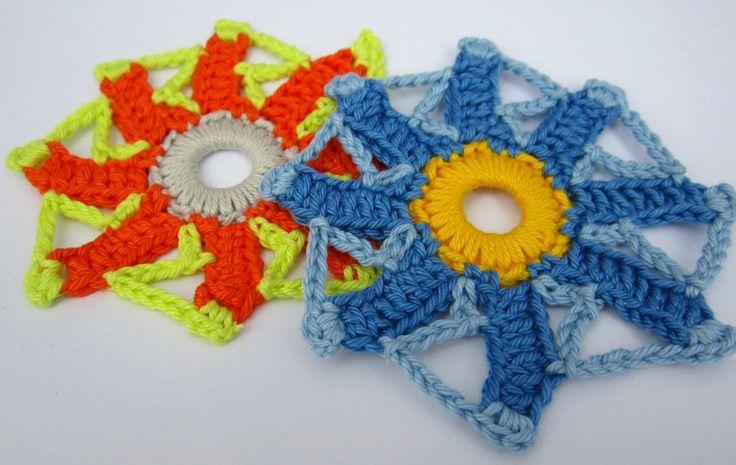 Die fünfte gehäkelte Paradiesblume - fifth crocheted paradise flower