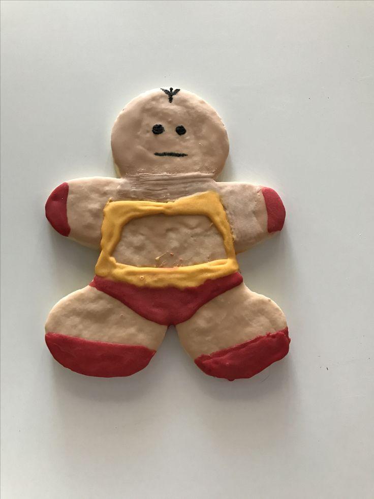 Krang Robot Cookie - Teenage Mutant Ninja Turtles