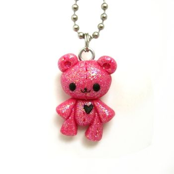 I absolutely love the design of this Bear Charm! Might have to make a similar one.