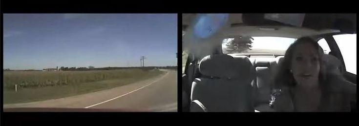 Używasz telefonu za kierownicą? Po zobaczeniu tego przestaniesz!