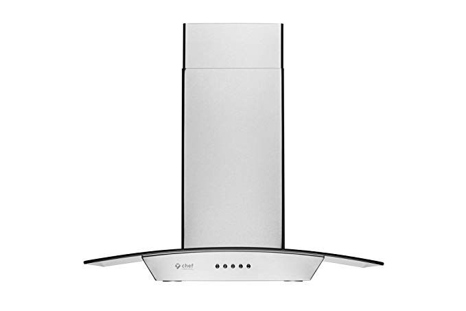 Cosmo 36 In Ducted Wall Mount Range Hood In Stainless Steel With Touch Controls The Home Depot Canada