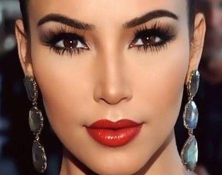 Maquillaje Ideas, Maquillajes, Ahumado Labios, Piel Culisa, Piel Oscura, Maquillaje  Para Morenas De Noche, Maquillaje Para Vestido Rojo, Maquillaje Invierno