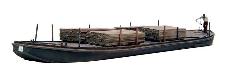 modellbahnshop-lippe.com Artitec 50.102 Towed barge
