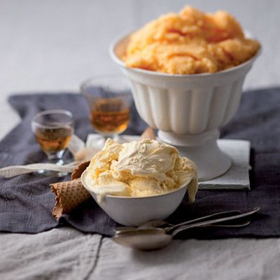 Taste Mag | Orange sorbet and easy French vanilla ice cream @ https://taste.co.za/recipes/orange-sorbet-and-easy-french-vanilla-ice-cream/