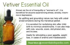 Vetiver Essential Oil: Stress, Anxiety, Insomnia, Depression young living member #2676399